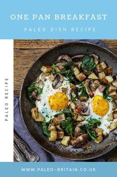 One Pan Breakfast  #Paleo #food #recipe #keto #diet #Breakfast