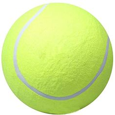 Funrarity Giant 95 Tennis Ball Pet Cat Dog Toy -- Click image for more details. (Note:Amazon affiliate link) #DogToys