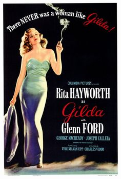 "CAST: Rita Hayworth, Glenn Ford, George Macready, Joseph Calleia, Steven Geray; DIRECTED BY: Charles Vidor; PRODUCER: Columbia Pictures; Features: - 27"" x 40"" - Packaged with care - ships in sturdy re"