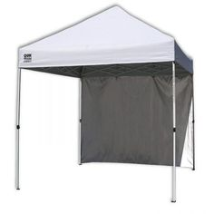 Quik Shade Commercial 10 Instant Canopy with Wall Panel White Description Get out of the sun without missing the fun! The Quik Shade Commercial 10 Canopy Frame, Window Canopy, Backyard Canopy, Canopy Bedroom, Patio Canopy, Canopy Outdoor, Canopy Tent, Canopies, Canopy Lights