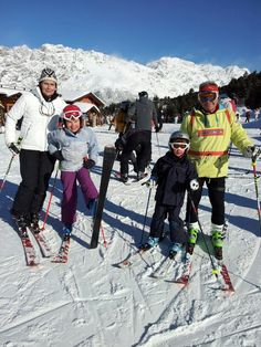 Skiing ... it's an intergenerational thing