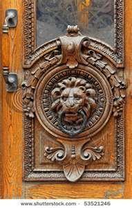 Door knocker in Helsinki Finland
