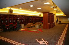 St Louis Cardinals Clubhouse