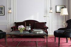 Gorgeous. La Réserve Paris Hotel and Spa.  Design: Studio Jacques Garcia