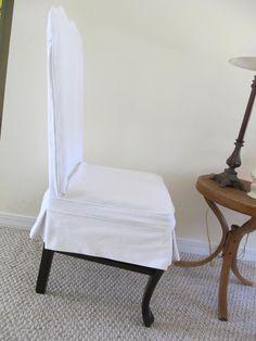wood chair slipcover
