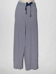 Nautica Sleep Pants New J Navy Striped Pajama Bottoms 211737 Extra Large