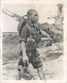 Gurkha soldier, Pacific, WWII  - very best fighters...