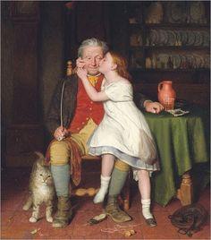 Edward_Thompson_Davis_Kissing_Grandpa1860
