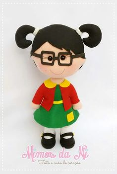 Stage Props, Clothespin Dolls, Felt Dolls, Beautiful Dolls, Minnie Mouse, Patches, Toys, Disney Characters, Biscuit