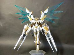 GUNDAM GUY: 1/144 Reborns Gundam 'Lancelot' Custom w/ Drei Zwerg - Custom Build