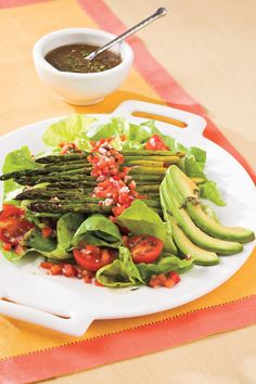 Roasted Asparagus Salad | These easy, versatile sidekicks are loaded with flavor and will add pizzazz to your meal.