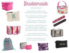 Love this little poem to go in a bridesmaid's gift. Ask me about our new Creative Expressions Bridal Collection today!!