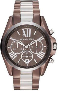 a73d27c04aa Michael Kors  Bradshaw  Chronograph Bracelet Watch Bracelet Watch
