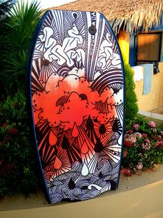 Customised Bodyboard. Mexico.  http://www.facebook.com/droog79