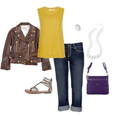 Grace Adele Kinley Bag in Grape, and Cheyenne Jewelry featured in this jewel-hued Polyvore!