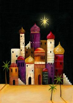 Leading Illustration & Publishing Agency based in London, New York & Marbella. Christmas Nativity, Christmas Art, Christmas Projects, All Things Christmas, Christmas Decorations, Xmas, Christmas Ornaments, Idees Cate, Church Banners