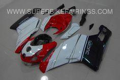 2003-2004 Ducati 749/999 Red, White & Black Fairings