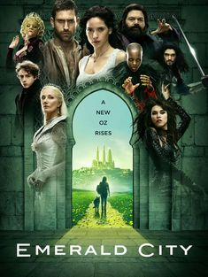 Emerald City Trailer and Poster. NBC's Emerald City TV show trailer and TV show poster star Gerran Howell, Adria Arjona, and Vincent D'Onofrio. Oliver Jackson Cohen, Tv Series 2016, Nbc Series, Series Premiere, Big Little Lies, Luke Cage, Band Of Brothers, Scream Queens, Orphan Black