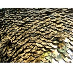 Exotic Gold N Black Scales  Throw Pillow Covers  by TheHomeCentric, $40.75