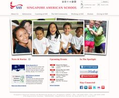 Singapore American School, a private pre-k to grade 12 school in Singapore, focuses on growth, development, and cultural awareness.