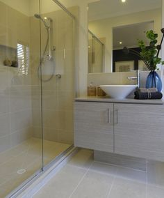 Floor & wall tiles  TRAVERTINE WHITE HONED (300x600)  MAXFL070   Info: Made in Australia  Grout: Silver Grey