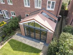 Discover a tiled conservatory roof that's also glazed with the Ultraroof. Tiled Conservatory Roof, Conservatory Design, Terrace Design, Roof Design, House Design, Conservatory Interiors, Design Design, House Extension Plans, House Extension Design