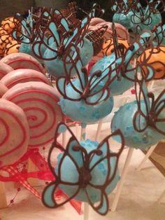 Cakepops Schmetterling Lolly