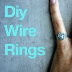 Create your own wire rings with this easy DIY tutorial.