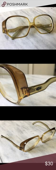 b83876c5c390 Christian Dior glasses Christian Dior eyeglasses from the These glasses are  in great vintage condition. Very unique shape.