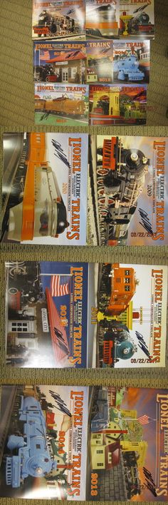 Price Guides 99847: Lionel Tinplate Catalogs 2009 To 2016 By Mth Autographed Set By Mike Wolf -> BUY IT NOW ONLY: $50 on eBay!