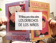 20 Libros para niños sobre los Derechos de los Niños Kids And Parenting, Cover, Illustration, Books, Relax, Music, Yoga, Short Stories, Frases