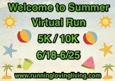 Welcome to Summer Virtual Run 5k/10k