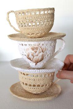 Crochet Tea Cup's