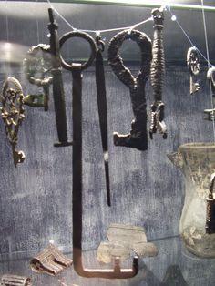 Norway - keys and locks. Fuente Museo de Oslo Norway.