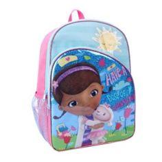 DISNEY JUNIOR DOCTOR MCSTUFFINS NURSE KID PLUSH BACKPACK SCHOOL PRESCHOOL BAG