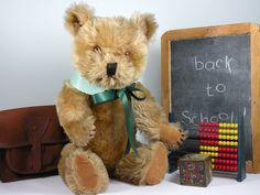 Brahms a Chiltern bear C1950/60 www.onceuponatimebears.co.uk