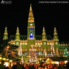 Christmas in Prague plus New Year's in Vienna? Yes, please! Book this festive cruise today and get $500 off/couple. http://social.avalonwaterways.com/qAn #AvalonWaterways #RiverCruising