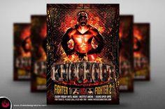 Fight Night Flyer Poster V2