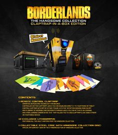Borderlands 2 and Borderlands The Pre-Sequel are getting an HD makeover. They are coming to the PS4 and Xbox One and there's even a limited edition set.