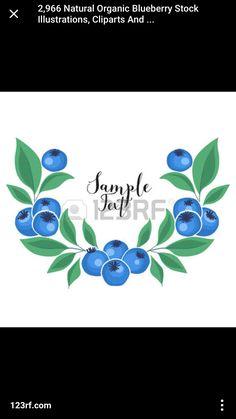 Organic Blueberries, Strawberry Blueberry, Illustration, Nature, Naturaleza, Illustrations, Nature Illustration, Off Grid, Natural