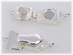 Bright Silver Single Strand Fold Over Clasp 7857 - Mobile Boutique