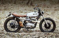 Kawasaki Z400 Scrambler by Klassik Kustoms #motorcycles #scrambler #motos | caferacerpasion.com