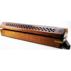 Incense Coffin No more messy ashes falling everywhere! Plus, you need something stylish for your Signature Hand-Dipped Incense.   Burns Two Incense Sticks (one at each end) Incense Storage  For 11-inch incense.