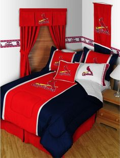 St. Louis Cardinals Theme...perfect for a baseball fan