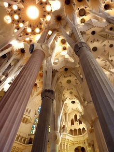 In Barcelona, explore the work of Antoni Gaudi, Spain's most famous—and most unique—architect. See Gaudi's masterpiece in progress, La Sagrada Familia Cathedral—it's been under construction since 1882 and is still not complete!