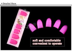 1box/lot Nail Art silicone Fingertips Protective Finger Cots nail art manicure tool 933eba98-7fbc-4878-8ca6-a61921ddac4b Others