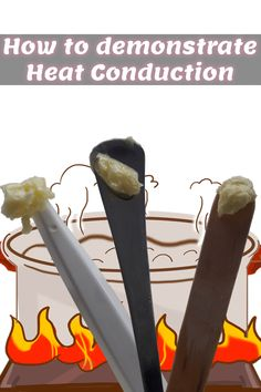 What is Heat Conduction, Convection and Radiation? Learn about Heat transfer Methods and demonstrate Heat Conduction with a simple experiment Cool Science Experiments, Science Fair, Teaching Science, Science And Nature, Science Classroom, Earth Science, Heat Energy, Thermal Energy, What Is Heat