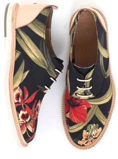 The Hampton floral mens shoe