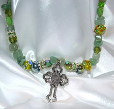Chunky Cowgirl Cross Necklace Gemstone Cowgirl by CowgirlUpLadies, $40.00