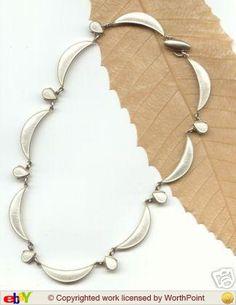 Volmer Bahner Enamel Jewelry, Art Nouveau, Scandinavian, Bracelets, Silver, Vintage, Fashion, Moda, Fashion Styles